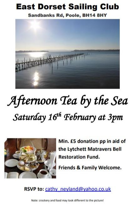 Afternoon Tea by the Sea @ EDSC | England | United Kingdom